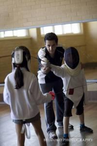 coach instructing
