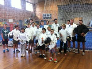 Fencing sport classes - Silversword Academy Term 1 2015