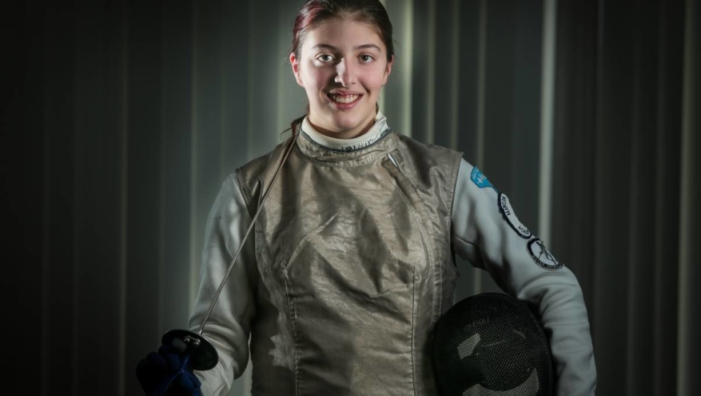 Wollongong Fencer Courtney