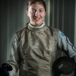 Wollongong fencer Courtney Buchanan